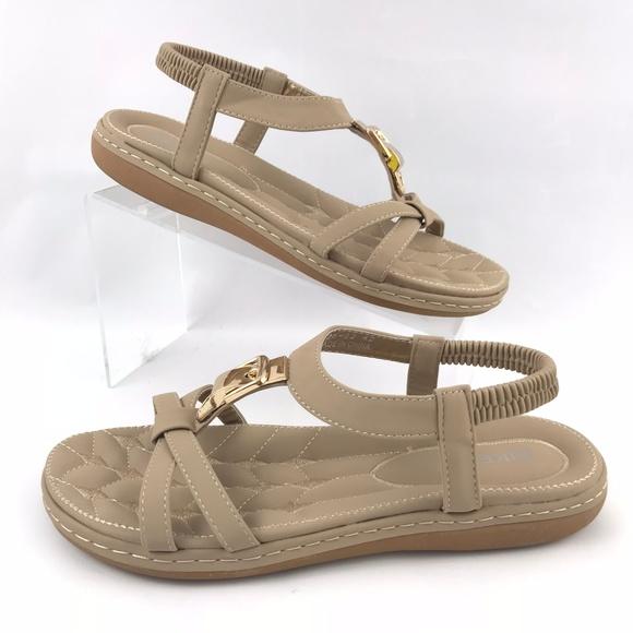 564295b37ec Siketu Women's T-Strap Sandals Q26-22 42